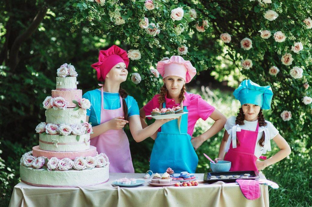 cooks, confectioner, children's